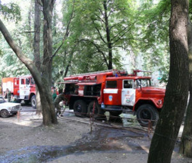 Около Воронежа из-за огня в школе-интернате дома, эвакуированной 88 человек