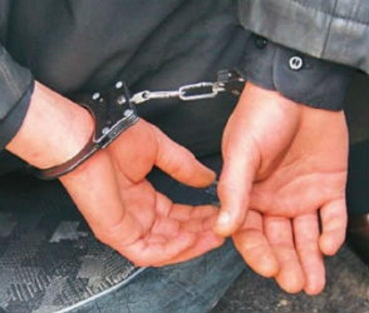 В Воронежском регионе в полицейском управлении задержанный для хулиганства