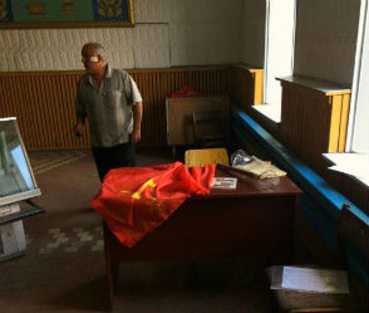 Воронежские коммунисты объявили воровство баннера от партийного приема