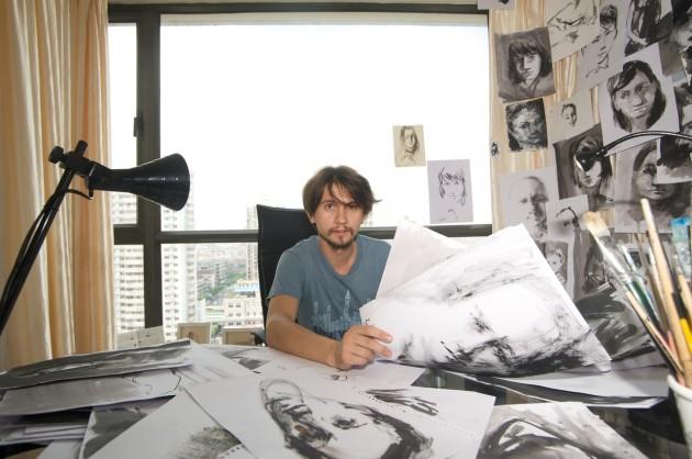 Воронежский художник, который путешествует во всем мире без денег, собирает снова к пути